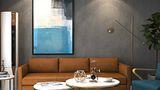 80平米一居室其他风格客厅效果图