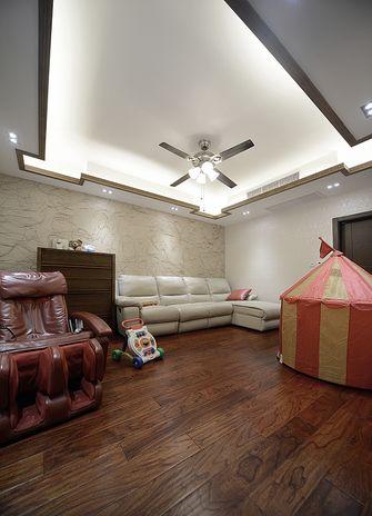 140平米别墅混搭风格客厅装修图片大全