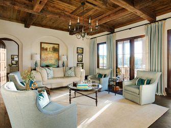 140平米别墅地中海风格客厅装修图片大全