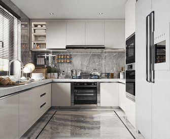 130平米四室两厅混搭风格厨房设计图