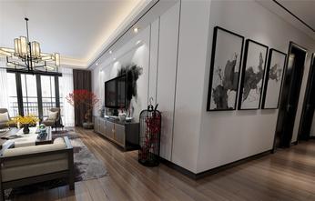 130平米三中式风格走廊图片