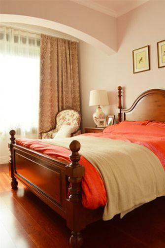 140平米三室三厅英伦风格卧室图片