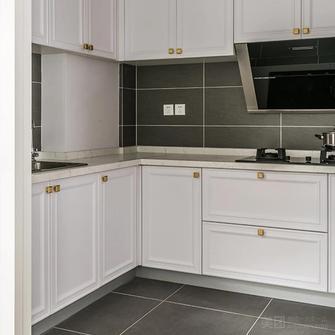 130平米三美式风格厨房欣赏图