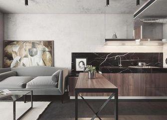 50平米一居室现代简约风格客厅欣赏图