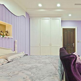 经济型60平米一室一厅田园风格卧室设计图