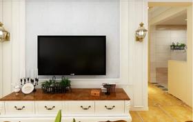 120平米三美式風格客廳圖片大全