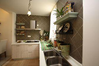 100平米三田园风格厨房设计图