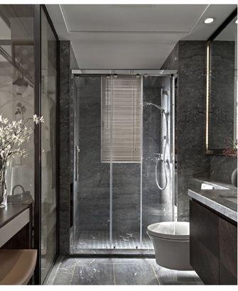 80平米三室五厅中式风格卫生间欣赏图