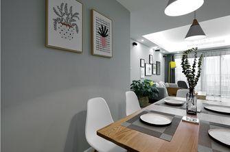 90平米欧式风格餐厅壁纸图片