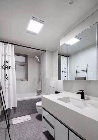 120平米三室一厅欧式风格卫生间设计图