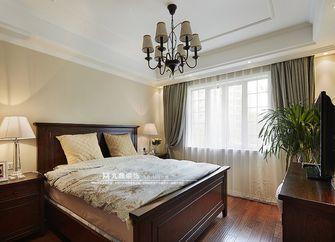 经济型110平米三室四厅美式风格卧室效果图
