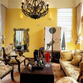 80平米三室两厅地中海风格客厅图