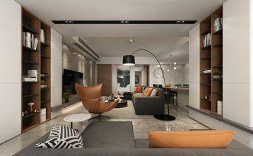 120平米四室一厅现代简约风格书房欣赏图