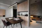 50平米一居室混搭风格客厅装修图片大全