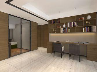 120平米四室两厅英伦风格书房图片