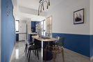 140平米四室两厅地中海风格餐厅图片