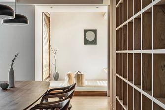 140平米三室两厅日式风格书房图