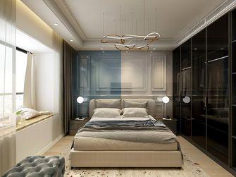 140平米三混搭风格卧室欣赏图
