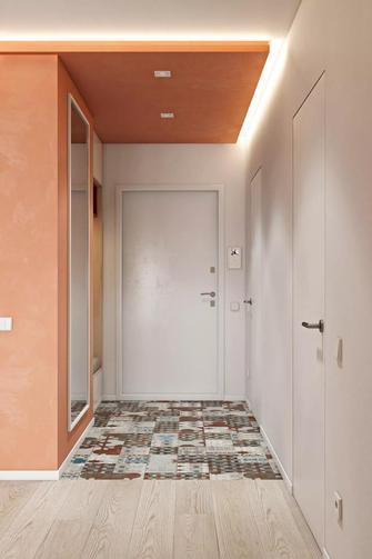 50平米一居室现代简约风格玄关欣赏图
