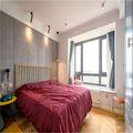 90平米三室一厅英伦风格卧室装修效果图