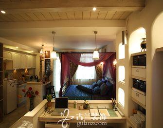 50平米小户型地中海风格卧室效果图