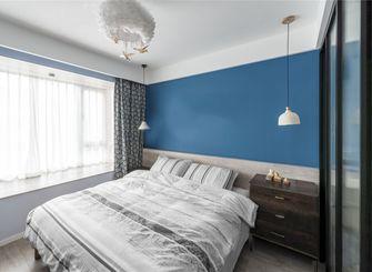 80平米三宜家风格卧室装修案例
