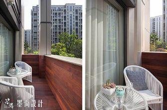 130平米三室两厅中式风格阳台欣赏图