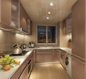 30平米以下超小户型英伦风格厨房图