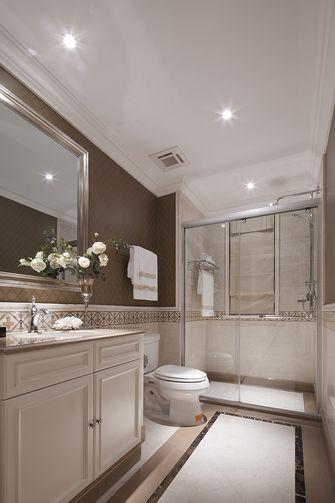 140平米复式美式风格卫生间浴室柜装修效果图