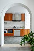 90平米现代简约风格厨房设计图