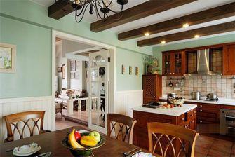 140平米别墅田园风格厨房图片