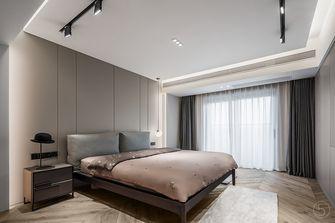 140平米公寓现代简约风格卧室欣赏图
