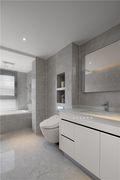 130平米四室一厅现代简约风格卫生间装修案例