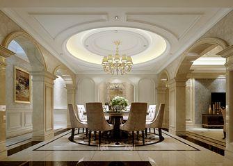 5-10万140平米别墅混搭风格餐厅图片