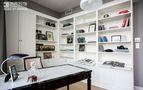 100平米三室两厅新古典风格书房家具装修效果图
