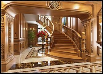 混搭风格楼梯间装修效果图