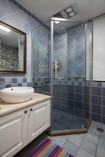 100平米三室一厅美式风格卫生间设计图