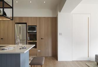 110平米三室三厅混搭风格厨房欣赏图