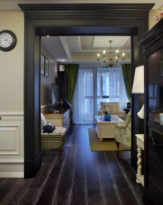 120平米三室一厅田园风格书房设计图