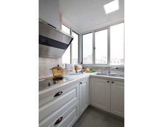 90平米三室两厅现代简约风格厨房欣赏图