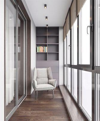 130平米三室两厅现代简约风格阳台图片