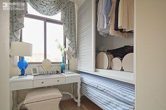 120平米三室两厅地中海风格卧室橱柜图片大全