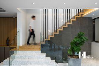 富裕型140平米别墅现代简约风格楼梯效果图