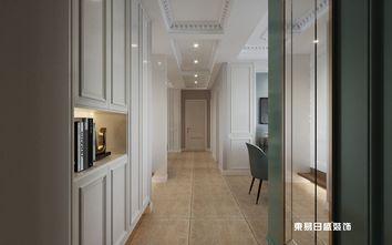 140平米三室两厅田园风格走廊欣赏图