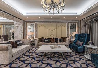 140平米四室三厅新古典风格客厅图片