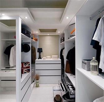 富裕型120平米三室两厅法式风格储藏室设计图
