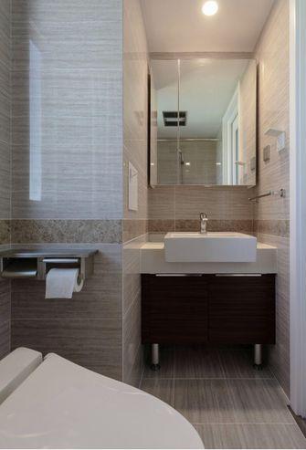 120平米三室两厅混搭风格卫生间图片大全