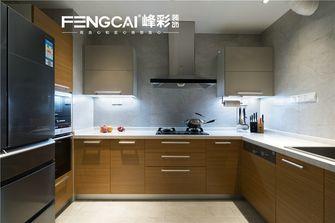 140平米四室三厅现代简约风格厨房图