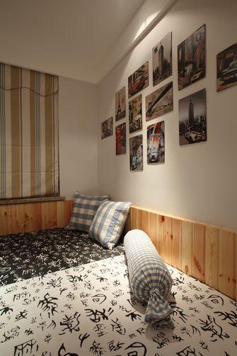 120平米三室三厅田园风格卧室装修案例