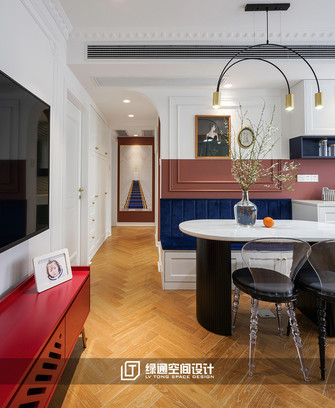 70平米三法式风格餐厅图